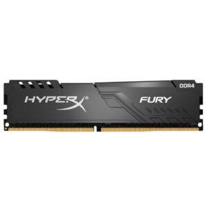 Модуль пам'яті для комп'ютера DDR4 8GB 2400 MHz HyperX FURY Black Kingston (HX424C15FB3/8)